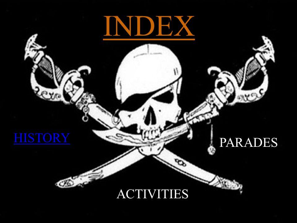 INDEX HISTORY PARADES ACTIVITIES