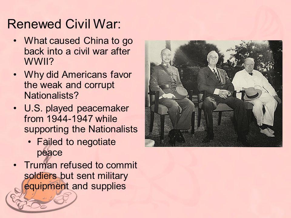 Civil War Continues: U.S.