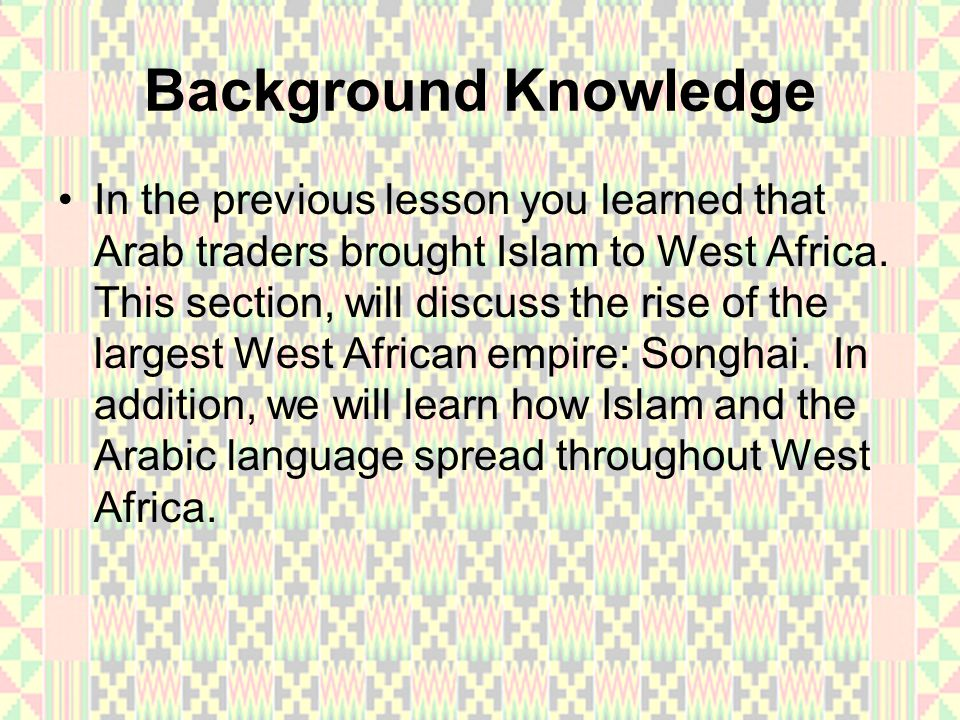 The Rise of Songhai In the 1300s, Mali controlled trading cities along the Niger River.