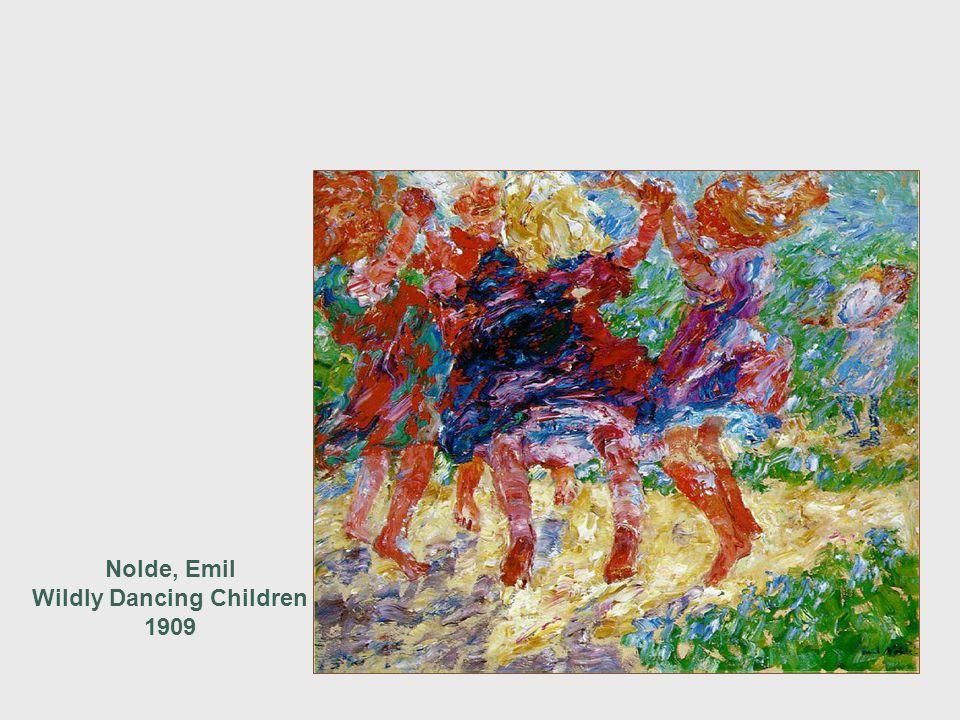 Nolde, Emil Wildly Dancing Children 1909