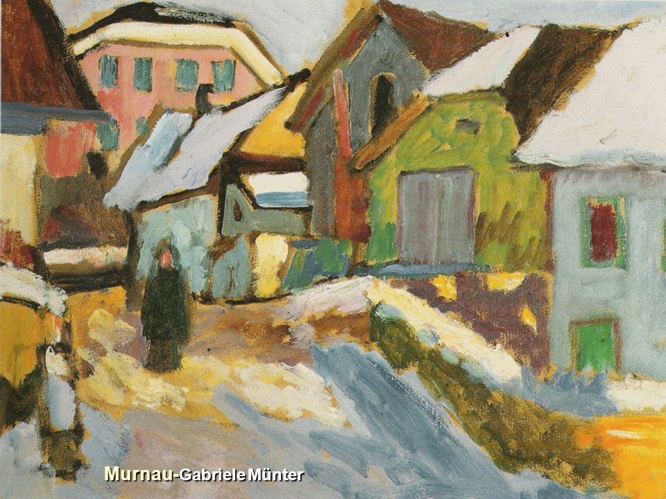 Murnau- Gabriele Münter