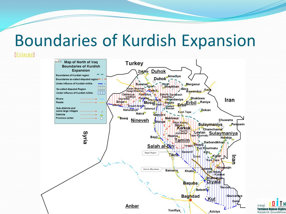 Boundaries of Kurdish Expansion [Enlarge]Enlarge