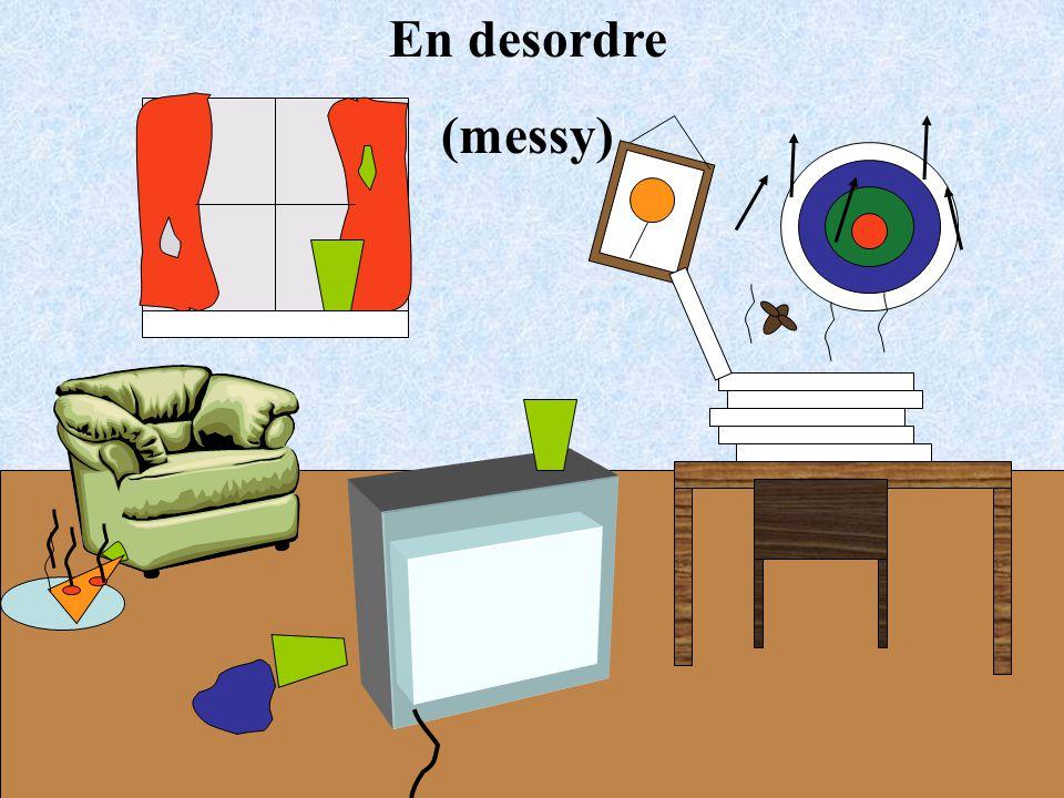 En desordre (messy)