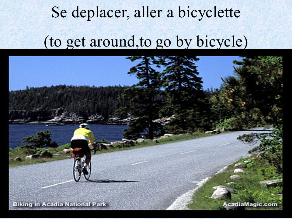 Se deplacer, aller en car (to get around,to go by car)