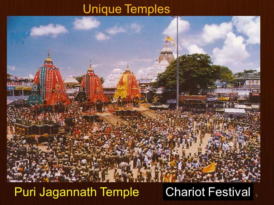 5 Chariot FestivalPuri Jagannath Temple Unique Temples