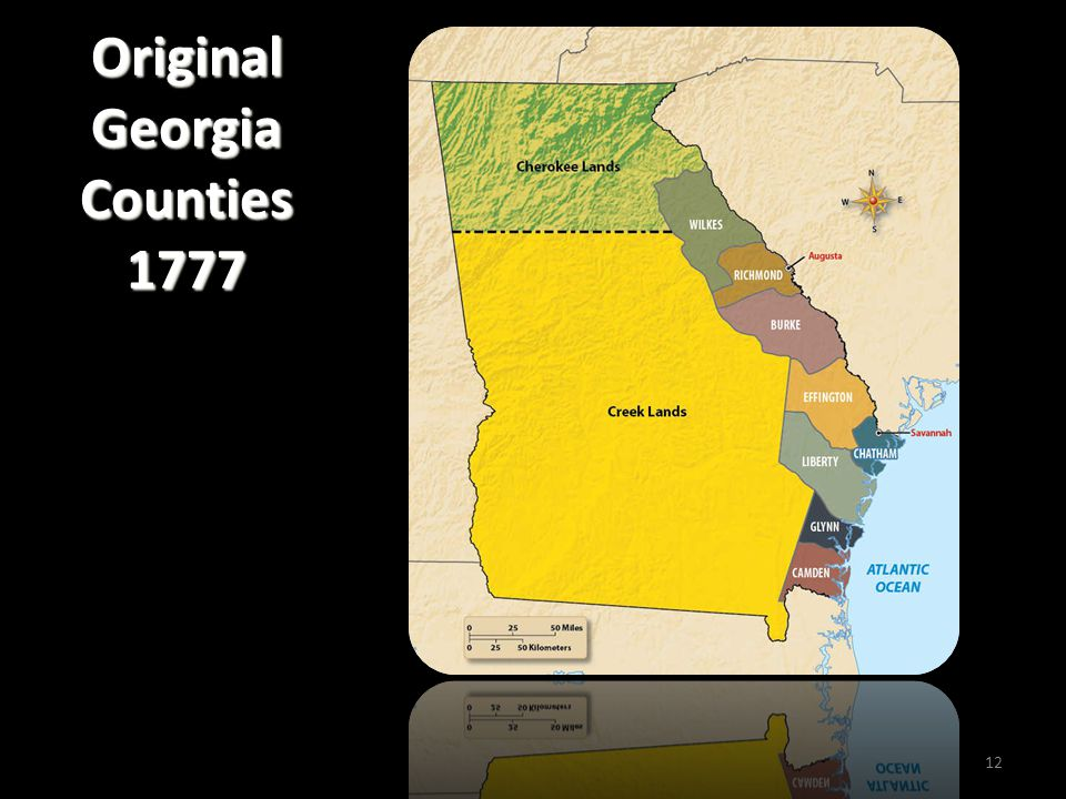 Original Georgia Counties 1777 12