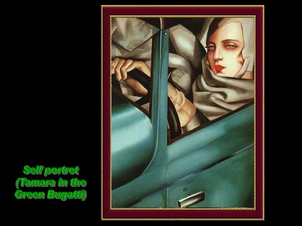 Now known as Tamara De Lempicka, the refugee studied art and worked day and night.
