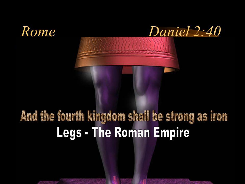 Rome Daniel 2:40