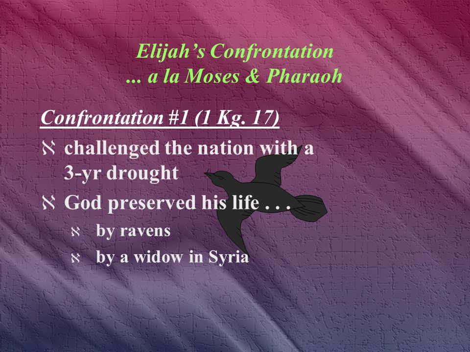 The LORD is my God Elijah