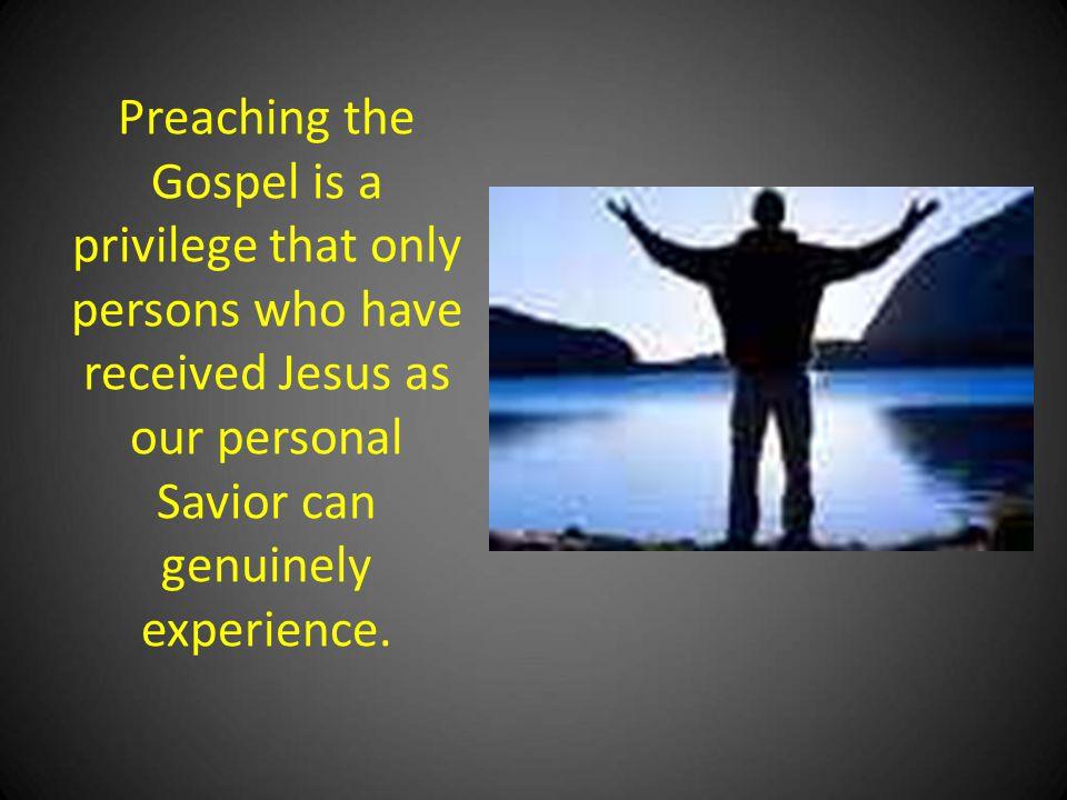 BECAUSE I LOVE GOD I Must Evangelize…