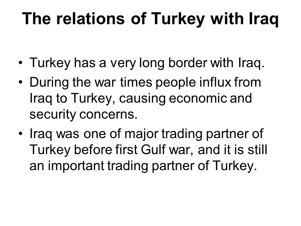 Factors affected the Turkish parliament on the Iraqi resolution.