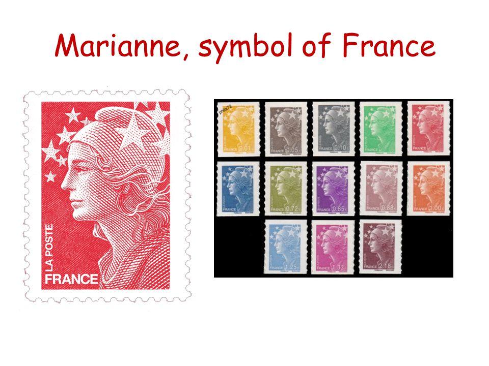 Marianne, symbol of France