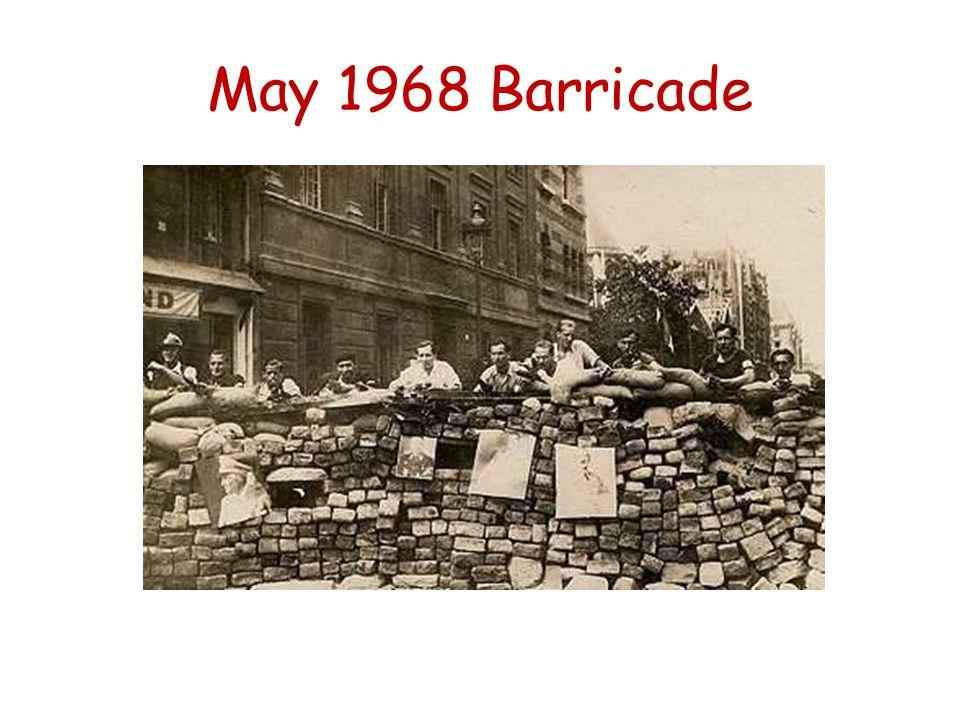 May 1968 Barricade