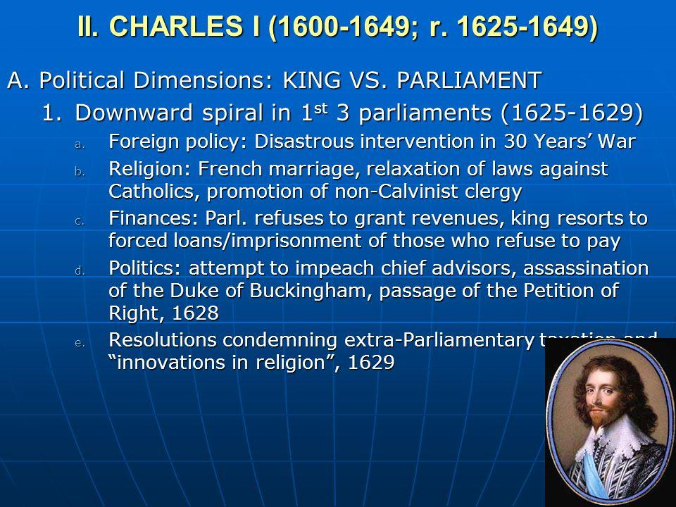 II. CHARLES I (1600-1649; r. 1625-1649)