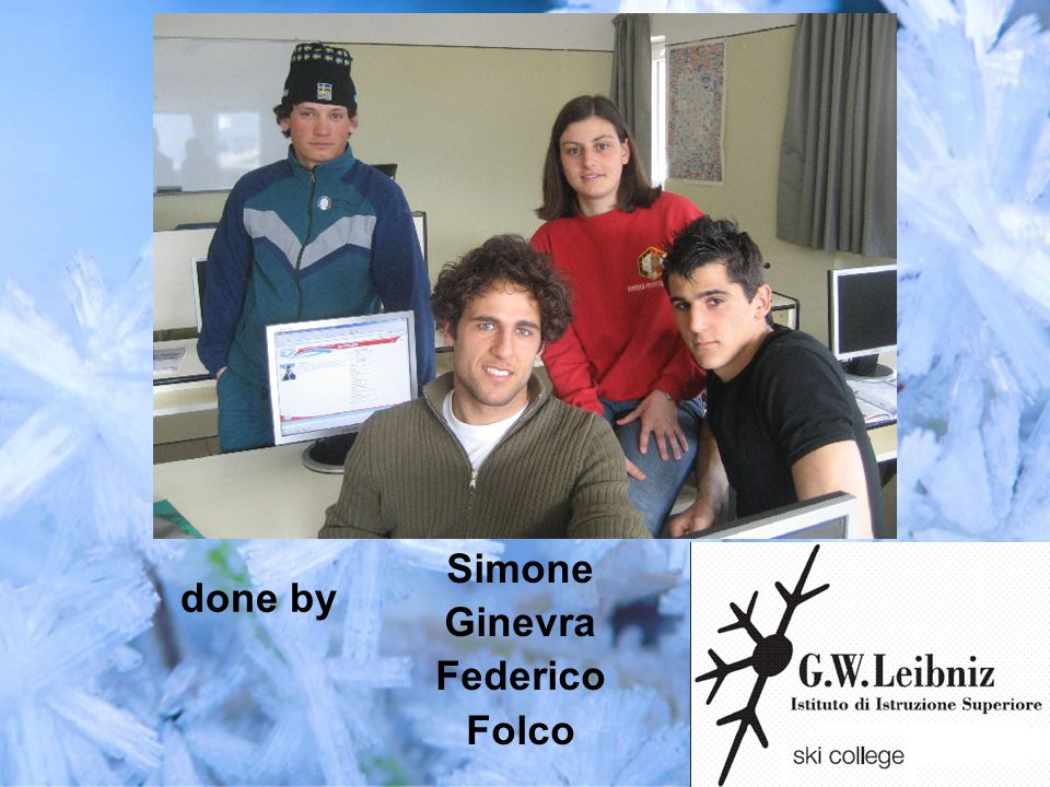 Simone Ginevra Federico Folco done by