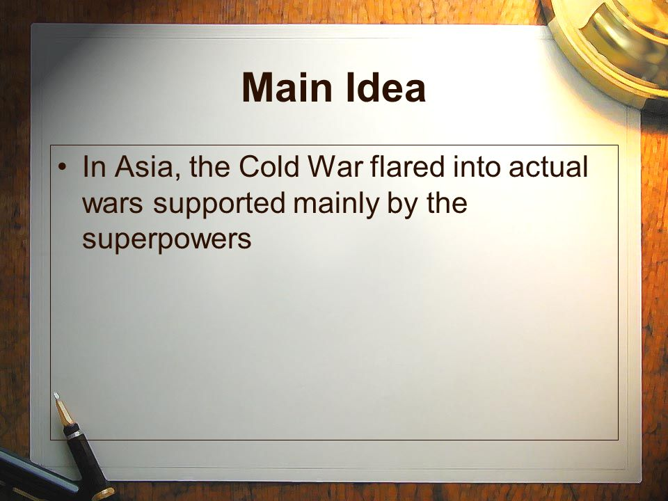 The Fighting Continues In July of 1953, the UN and North Korean forces sign a cease-fire agreement.