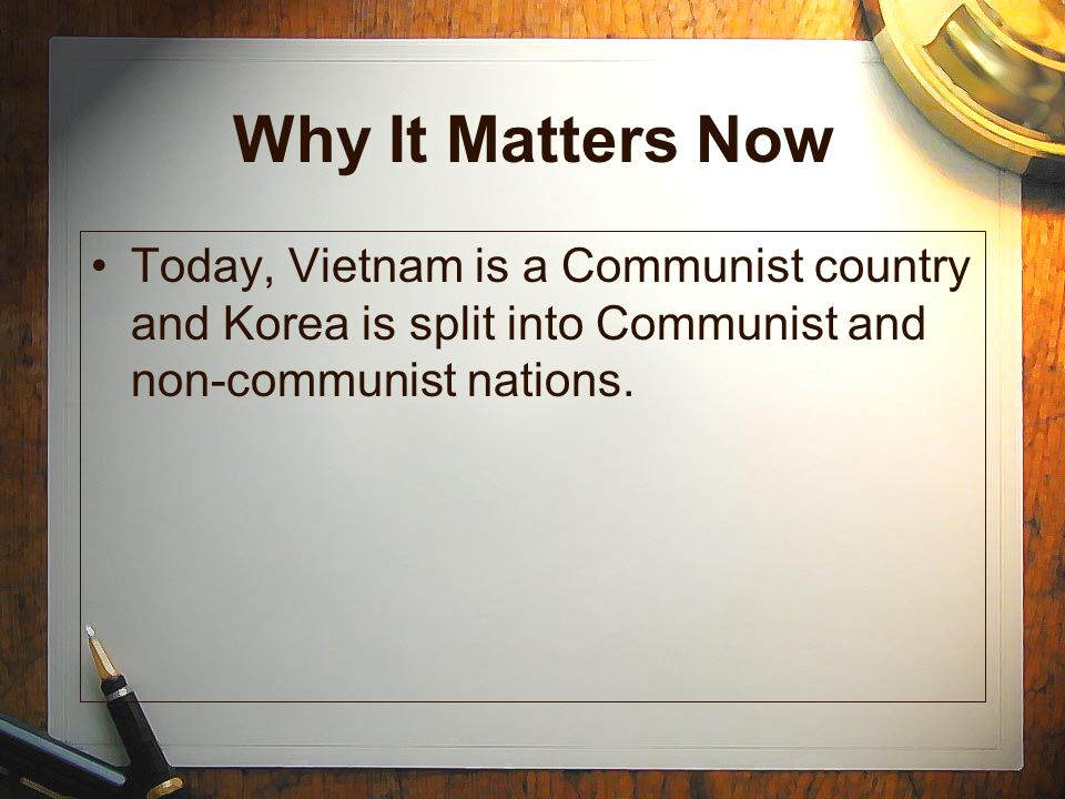 Vietnam- A Divided Country Some Vietcong were trained soldiers from the North, but most were from the South and hated Diem.