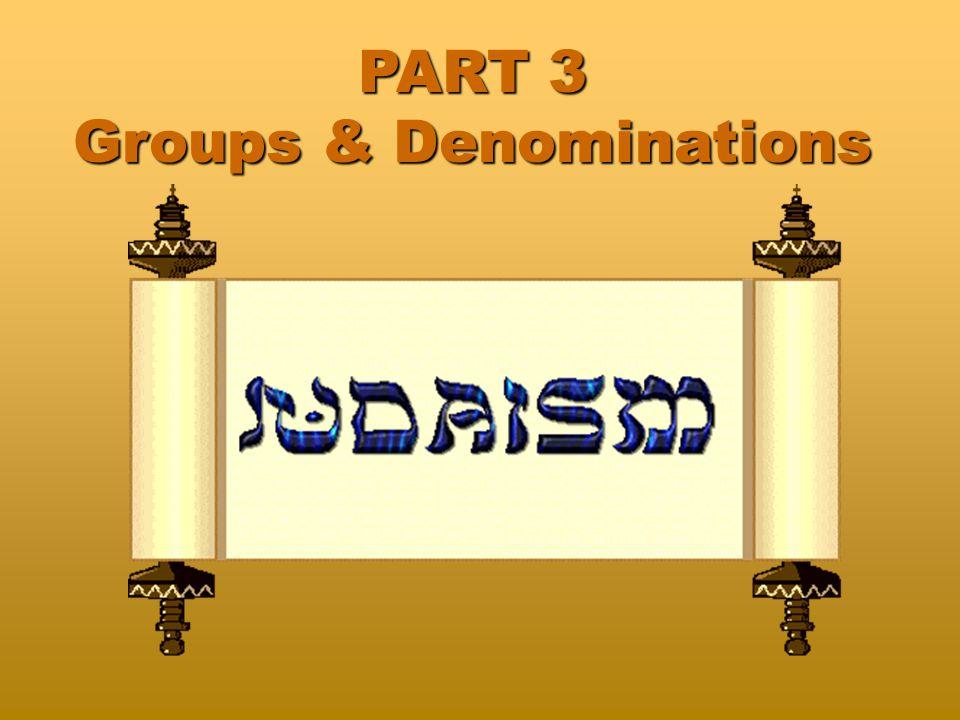 Denominations Fundamentali st CulturalModerateConservativeLiberal