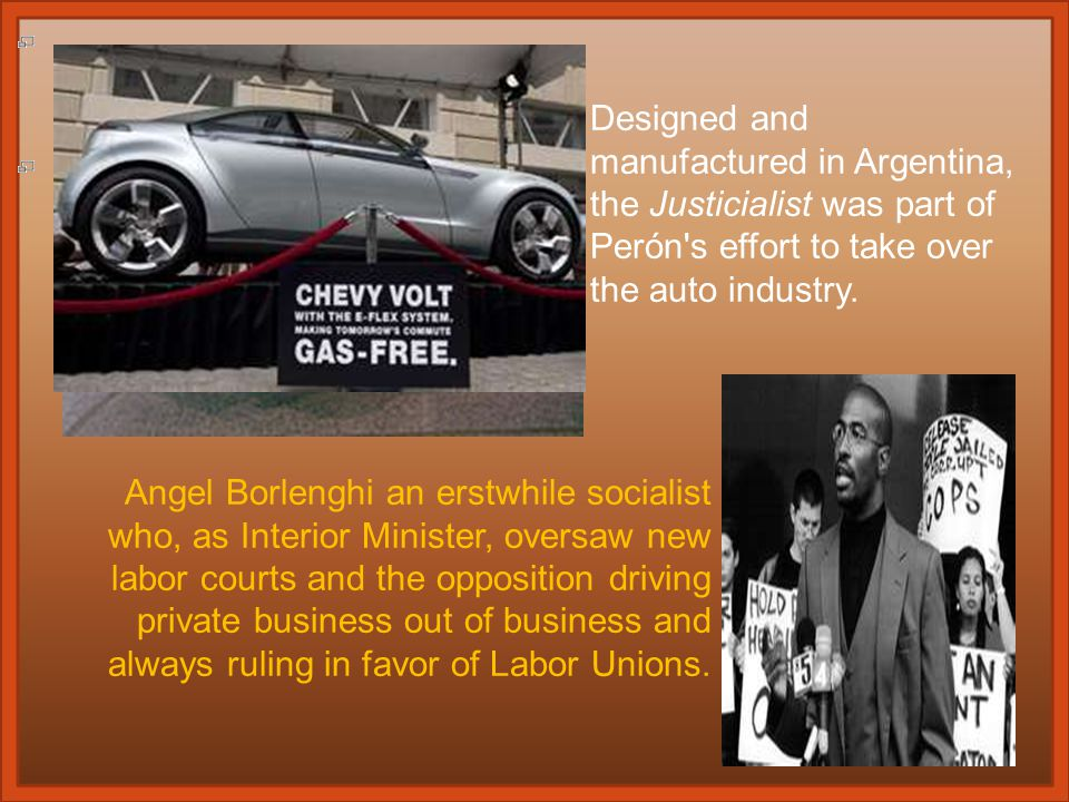 The death knell (bell) for the Argentine economy sounded with the election of Juan Perón, a 'Catholic ( )'.