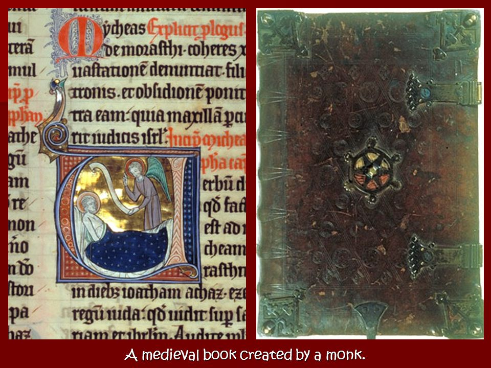From parchment, or animal skin, to paper in 12th century Europe. –F–F–F–From China