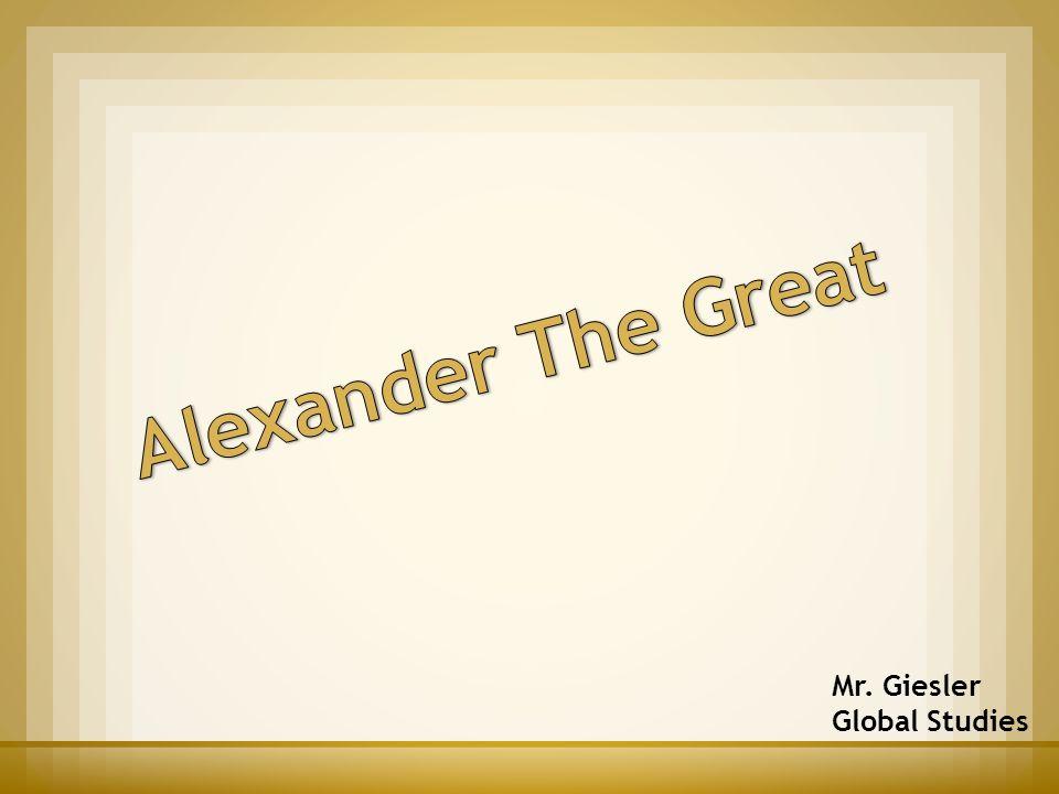 Mr. Giesler Global Studies