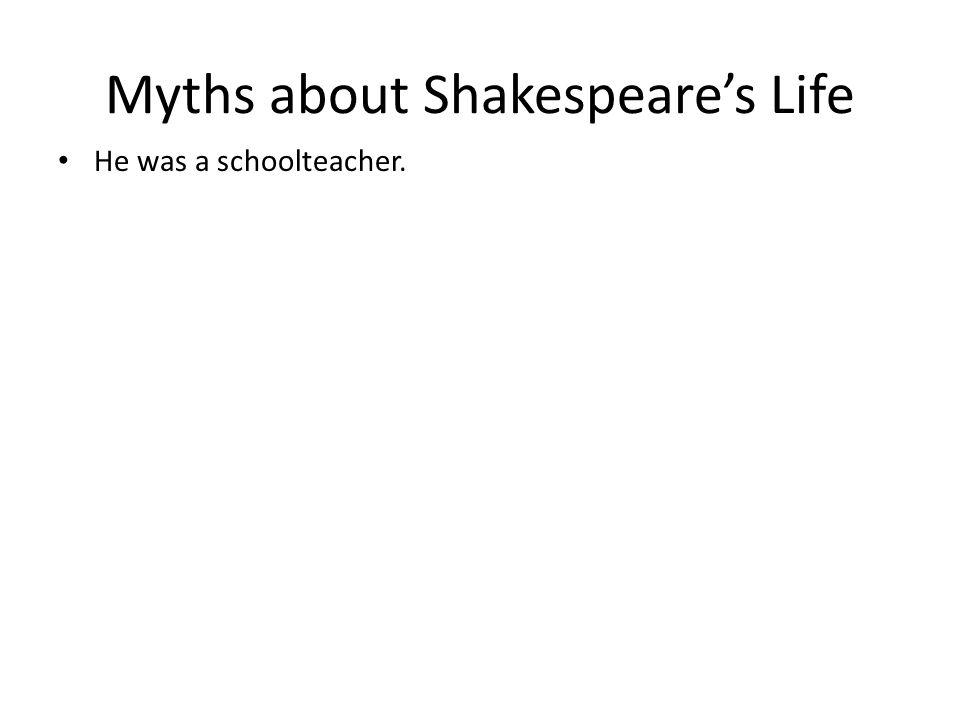 He was a schoolteacher.