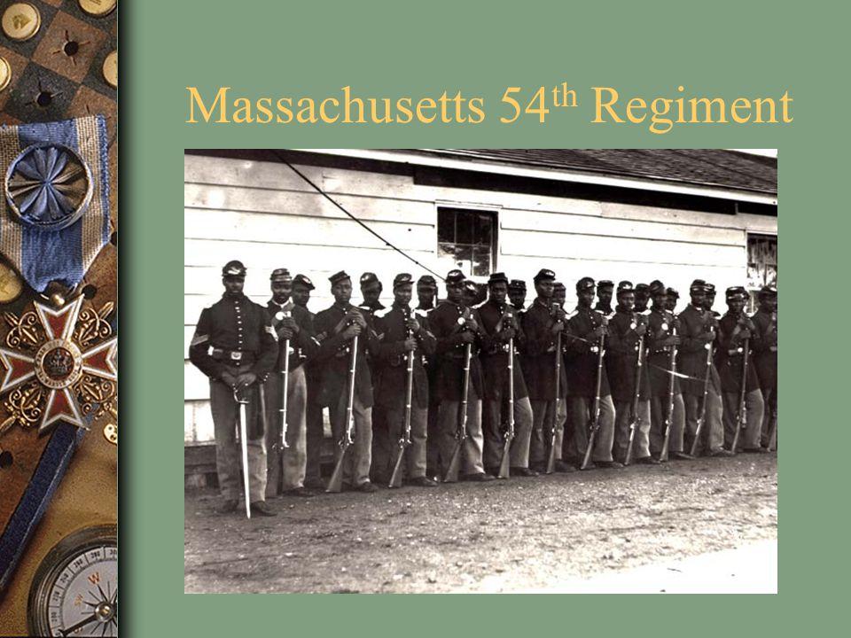 Massachusetts 54 th Regiment