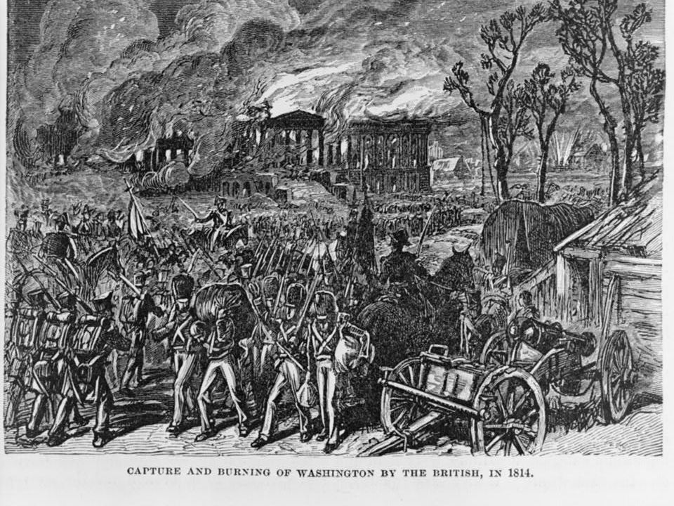 II. The British Offensive (pages 356–359) In spring 1814 Britain defeated France- free to join War of 1812 August 1814 British sailed into Chesapeake