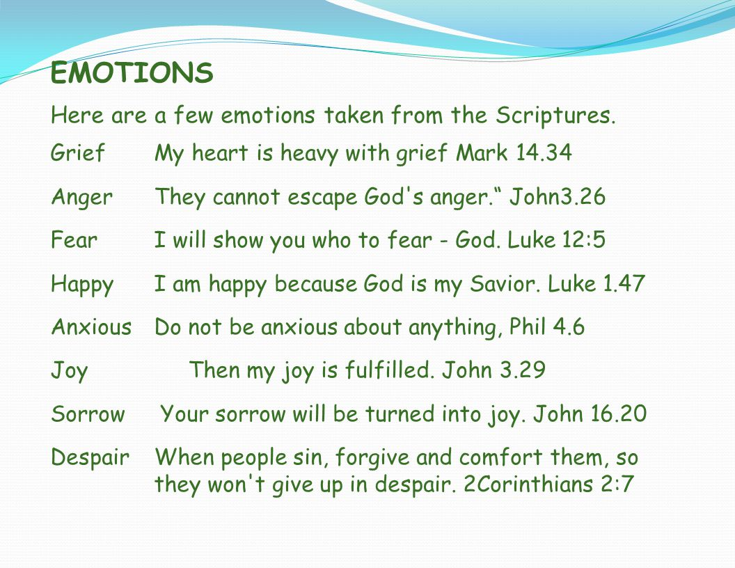 HARMFUL EMOTIONS A.Anger 1.