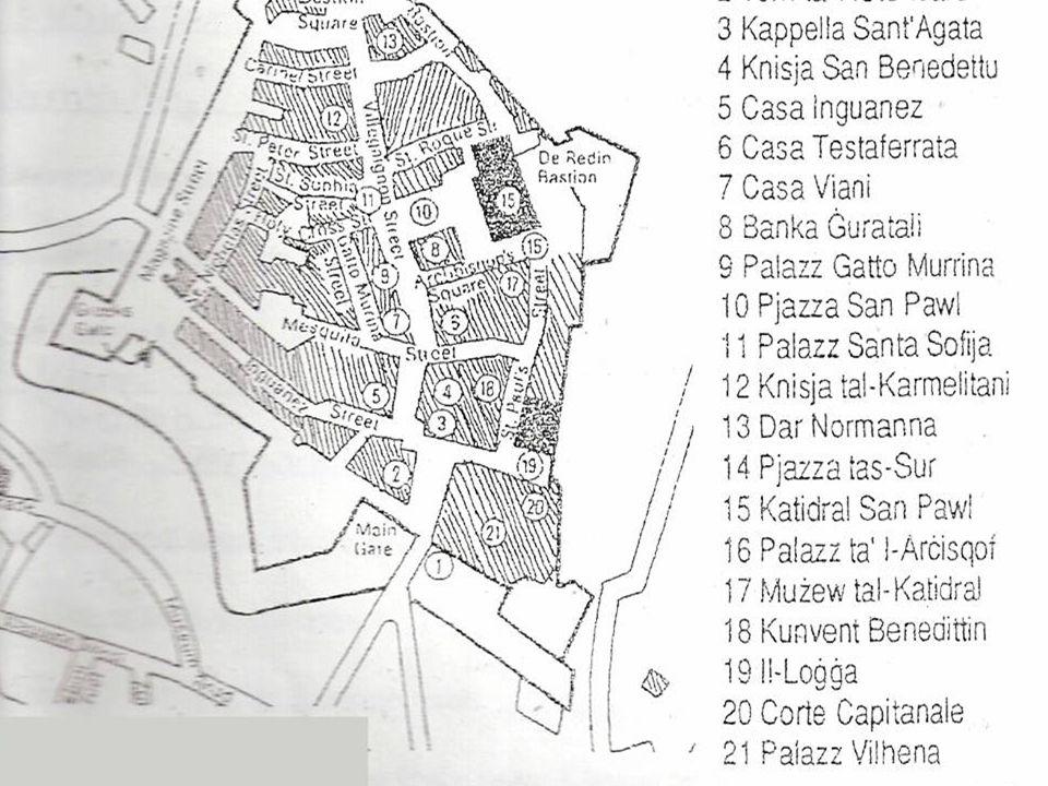 L-Imdina fi \mien ir-Rumani u l-G]arab L-Imdina hija l-eqdem belt kapitali ta' Malta.