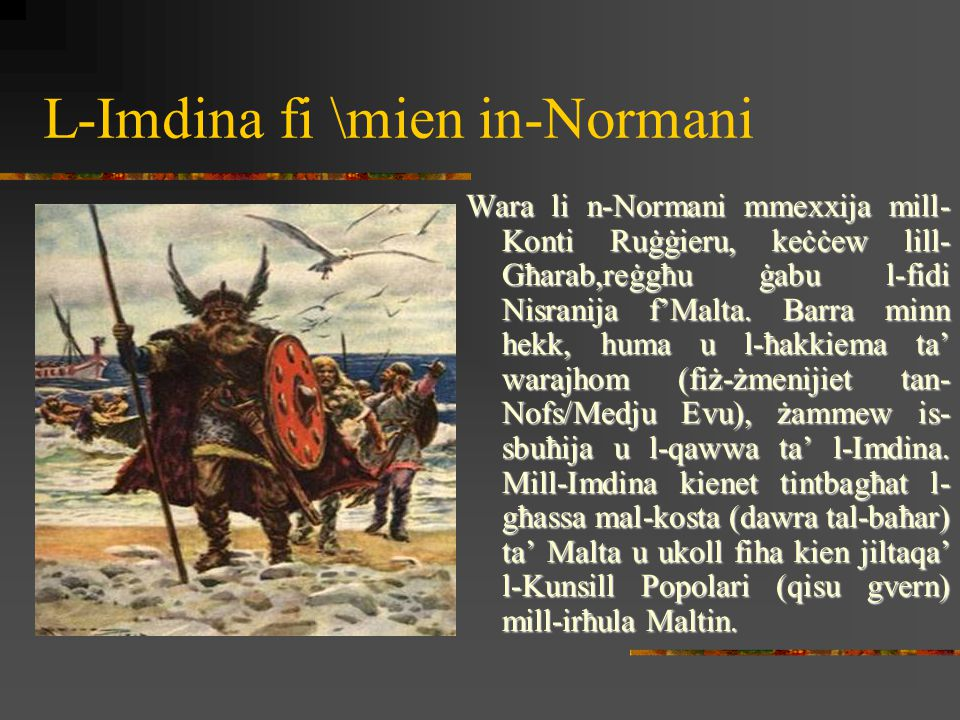 L-Imdina fi Żmien il-Kavallieri II-Kavallieri ta' San Ġwann ġew Malta fl-1530.