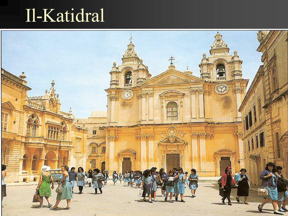 II-Katidral ta' I-Imdina huwa l-knisja prinċipali ta' l- Arċidjocesi ta' Malta li fiha jqaddes l-Arċisqof ta' Malta.