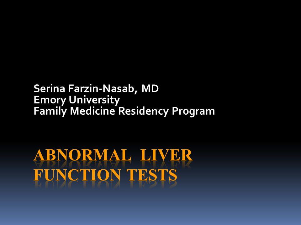 Serina Farzin-Nasab, MD Emory University Family Medicine Residency Program
