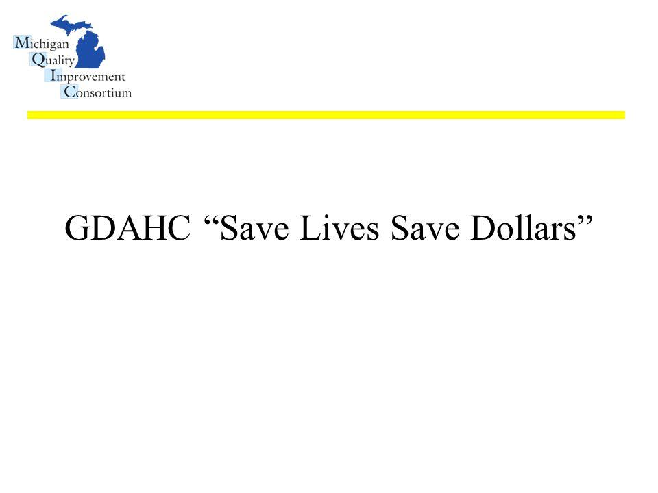 """GDAHC """"Save Lives Save Dollars"""""""