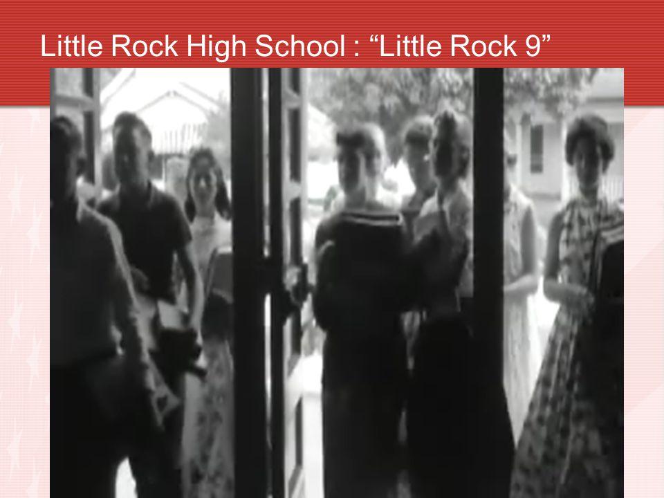 Little Rock High- Arkansas 1957-58 Little Rock High School, Arkansas 1957-58 (Largest H.S.