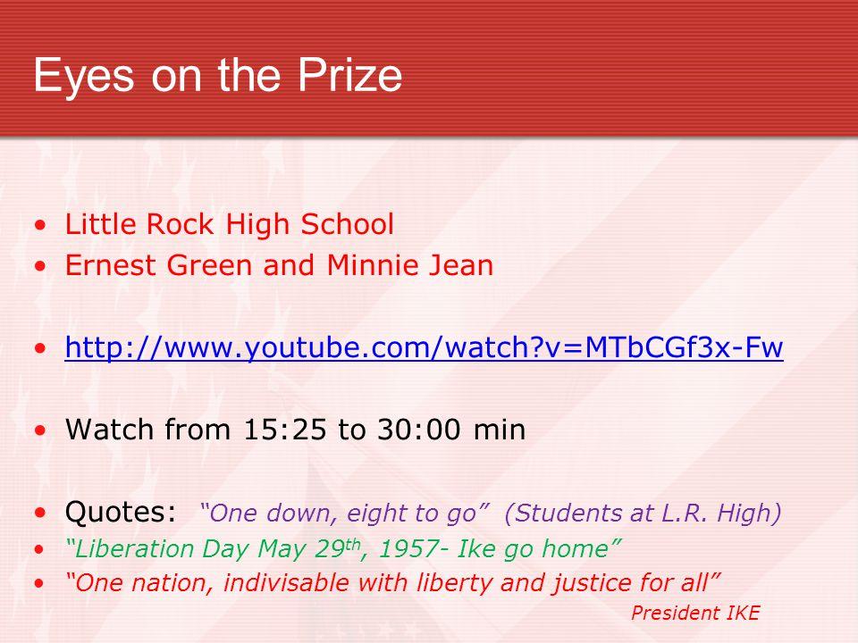 Little Rock High School : Little Rock 9