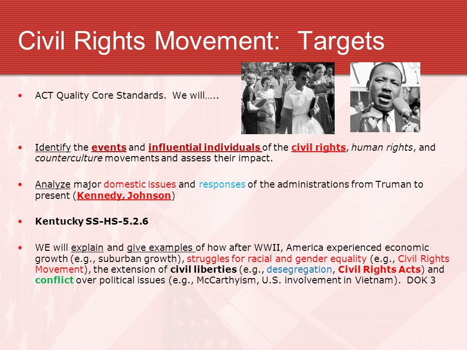 U.S. History 4.8.14 Topic-- Civil Rights 12-Part Box Notes Graph and Terminology TURN IN COMPLETE Wednesday!! APUSH- Test Review AP or Book by Wed. To