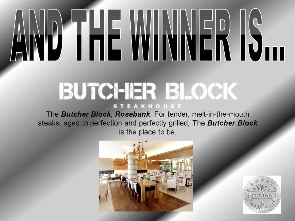 The Butcher Block, Rosebank.