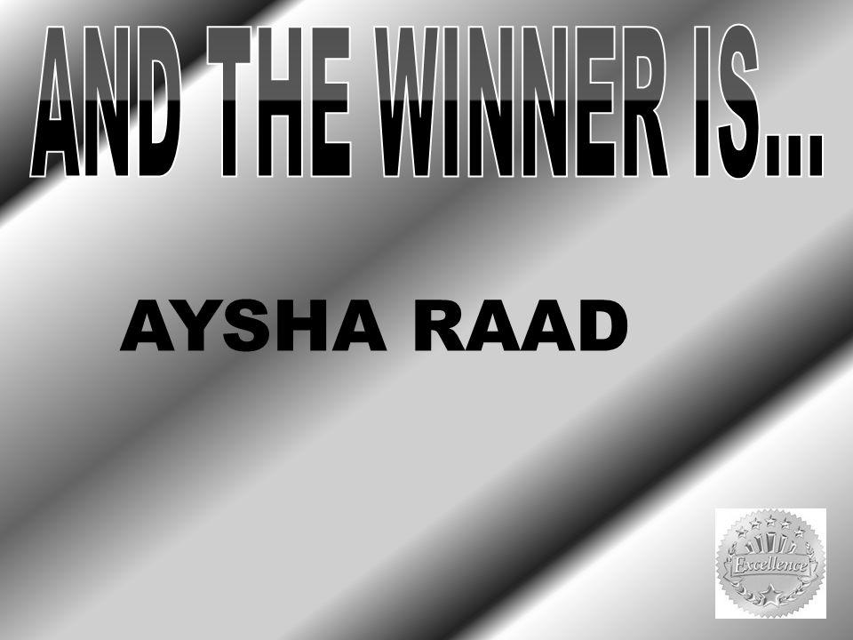 AYSHA RAAD