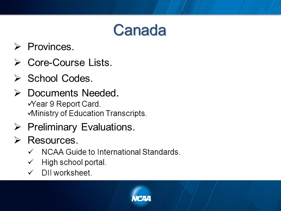 Division II Initial Eligibility and International Certifications – Ncaa Eligibility Worksheet