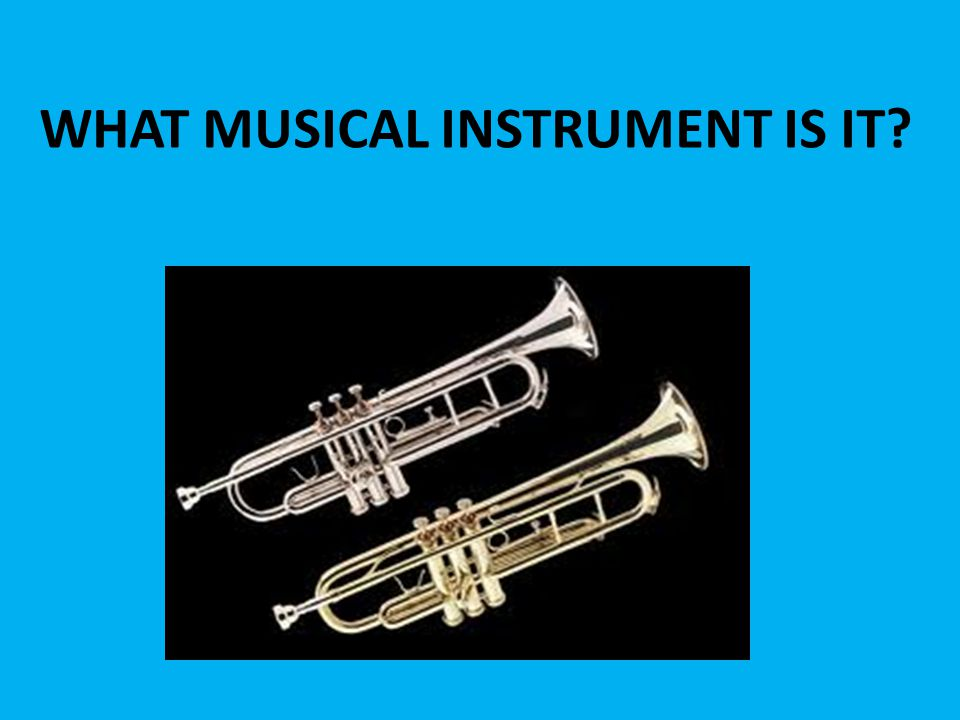 WHAT MUSICAL INSTRUMENT IS IT