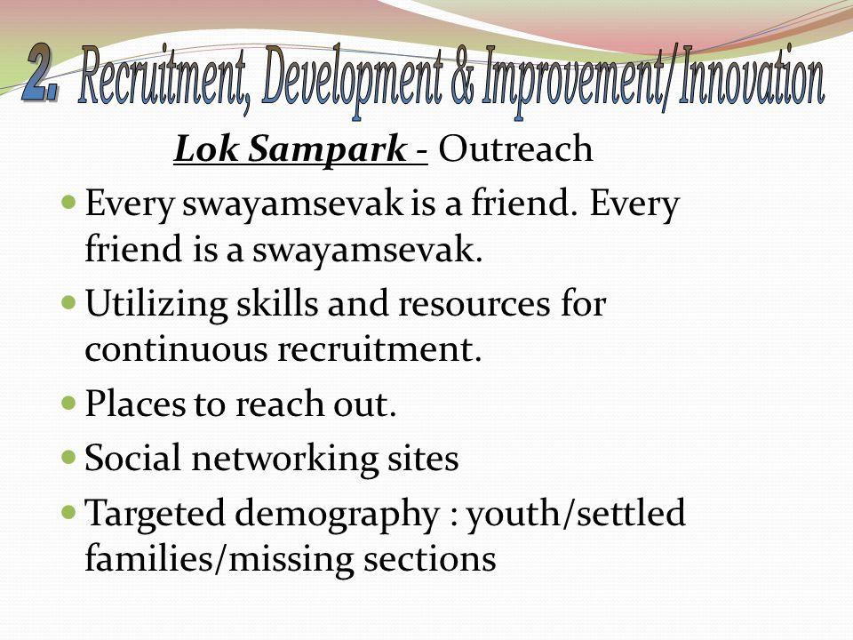 Lok Sampark - Outreach Every swayamsevak is a friend.