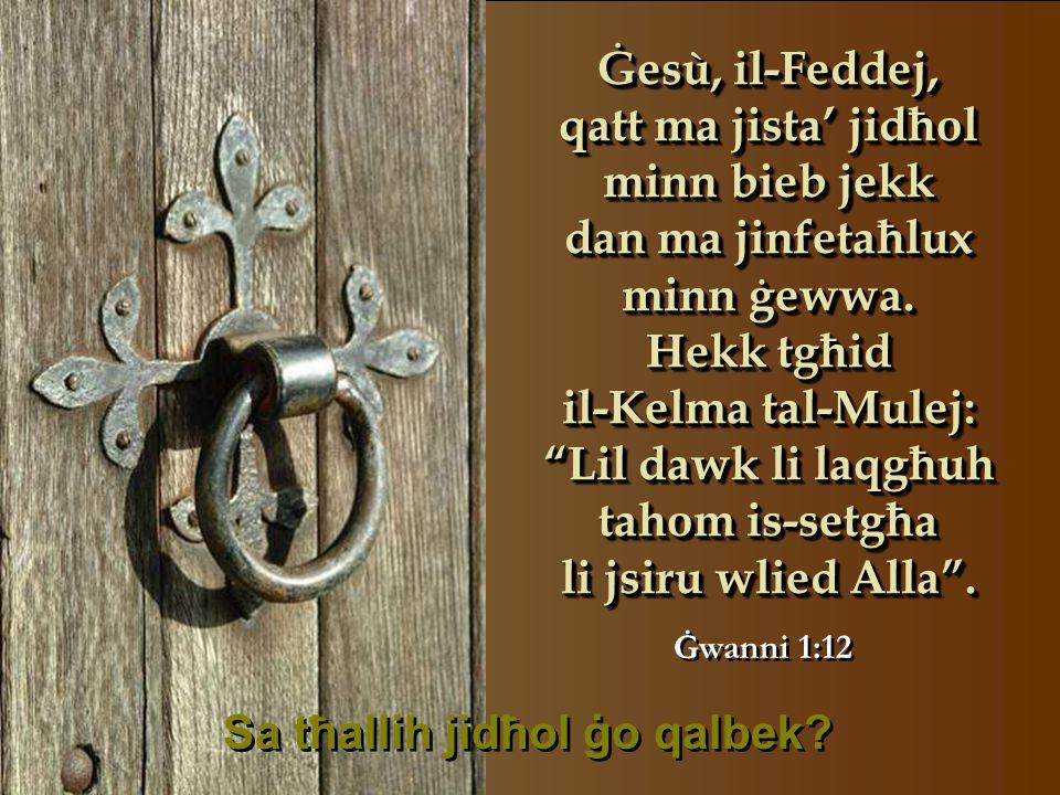 M'hux biżżejjed li Ġesù, is-Sultan tas-slaten, twieled f'Betlehem, taħt il-kewkba li ħabbret il-miġja tiegħu.