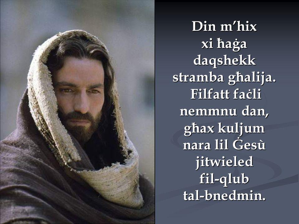 Ħafna nies ma jistgħux jifhmu kif Alla seta' jinżel u jilbes il-ġisem ta' bniedem, imma Hu ġie.