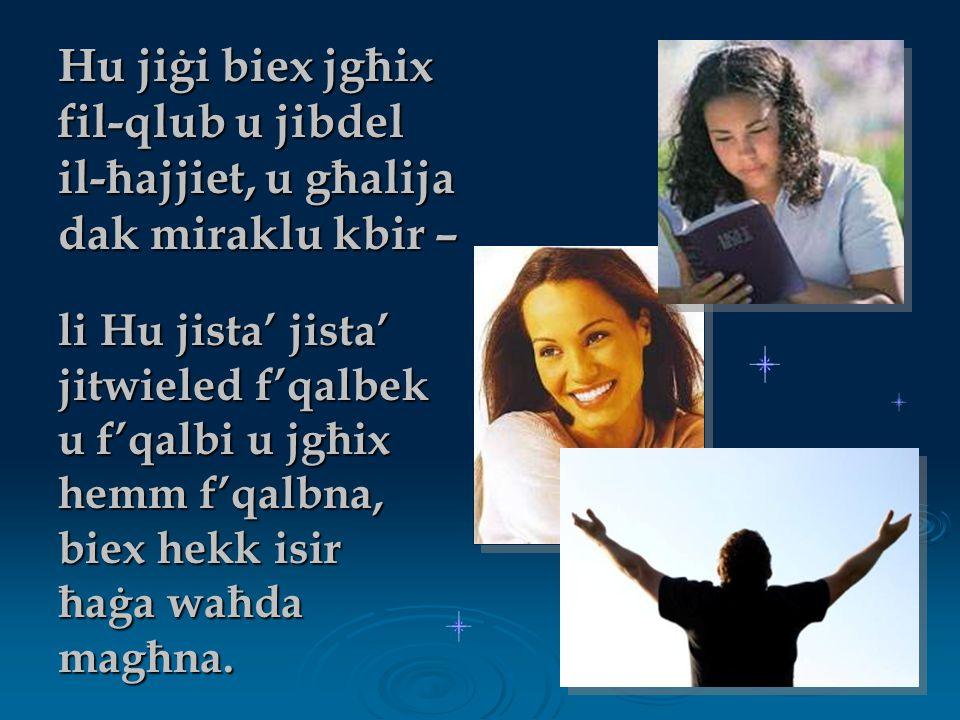 Din m'hix xi ħaġa daqshekk stramba għalija.