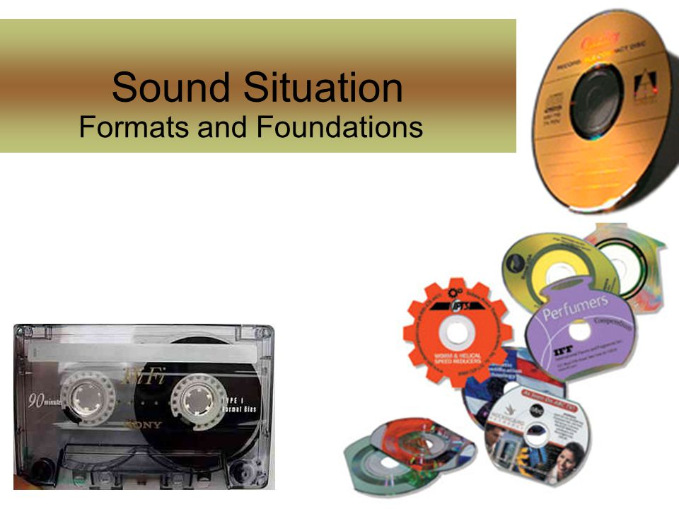 Sound Situation Formats and Foundations