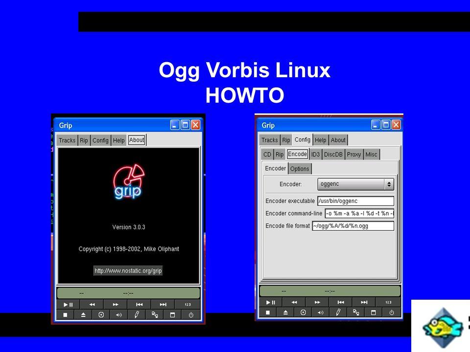 Ogg Vorbis Linux HOWTO