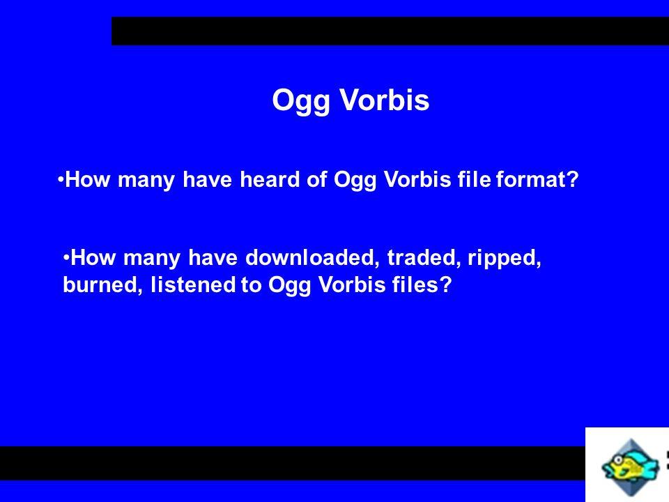 Ogg Vorbis Windows HOWTO