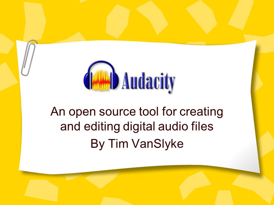 Cutting and Pasting Cut & Paste with audio is similar to doing the same thing with text.