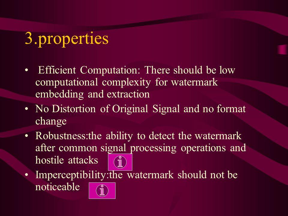 3.properties What requirements should be met?